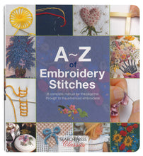 Load image into Gallery viewer, A~Z of Embroidery Stitches