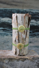 Load image into Gallery viewer, Birch Bark vases by Linda Quick