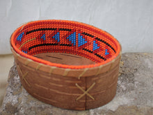 Load image into Gallery viewer, Colorful Birchbark vessels