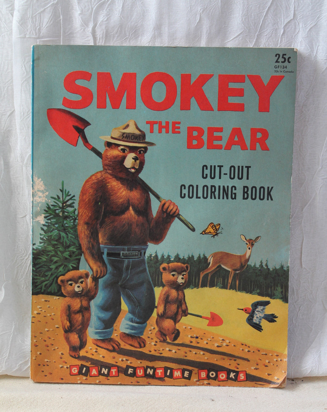 Smokey The Bear Coloring Book