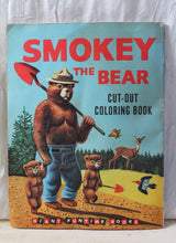 Load image into Gallery viewer, Smokey The Bear Coloring Book