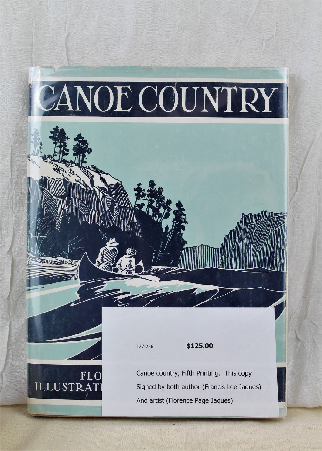 Canoe Country 5th edition Book/Signed