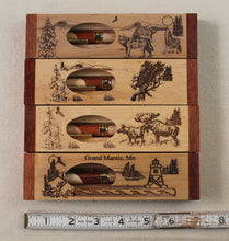Load image into Gallery viewer, Wooden Engraved Box and Pen Set