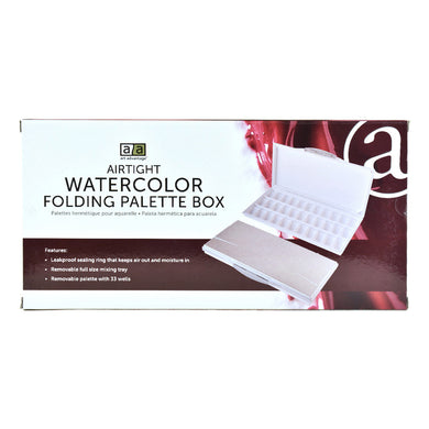 Airtight Watercolor Folding Palette Box