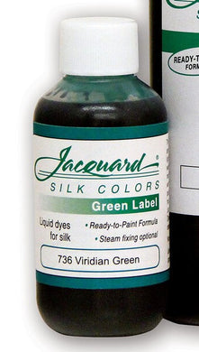 Jacquard Green Labeled Liquid Dyes for Silk
