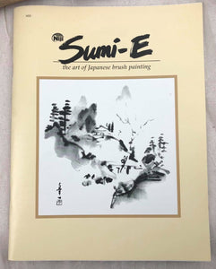 "Sumi-e Painting Booklet ""The Art of Japanese Brush Painting"""