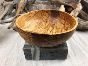 Hand Turned Birch Bowl 7.75 in. by Doug Andrus