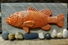 Load image into Gallery viewer, Pottery Relief Fish on board Collection by Peggy Little