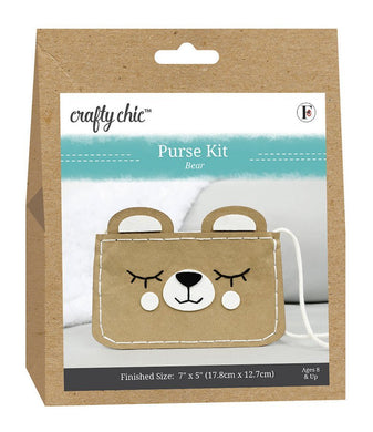 Crafty Chic Bear Bigger Purse Kit