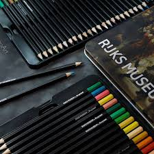 Colored Pencil Sets by Bruynzeel Rijksmuseum Dutch Masters