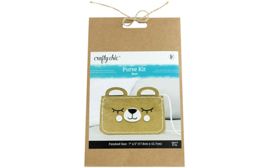 Crafty Chic Bear Coin Purse Kit