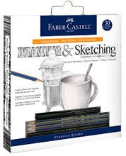 Load image into Gallery viewer, Drawing & Sketching Faber-Castell 30 piece