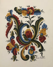 Load image into Gallery viewer, Scandinavian Rosemaling Prints by Lucia Carlson