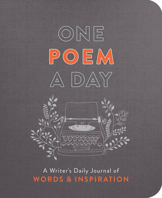 One Poem A Day - Inspirational Poetry Journal