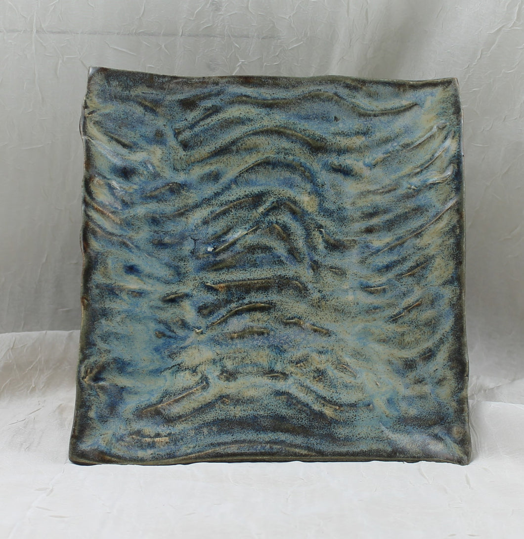 Square Wave Plate by Ca Miller