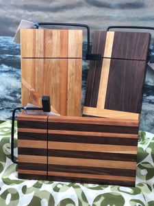 Built in Cheese-Slicers Butcher-Block Cutting Boards
