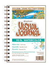 Load image into Gallery viewer, Strathmore Visual Journal Watercolor Paper