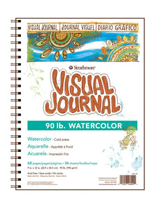 Strathmore Visual Journal Watercolor Paper