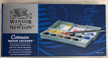 Load image into Gallery viewer, Windsor Newton Pocket Watercolor Travel Journal Set