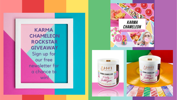 Karma Chameleon is our latest Rockstar Giveaway