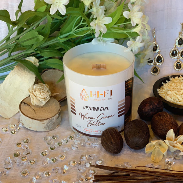 Our Uptown Girl candle is 20% off this week