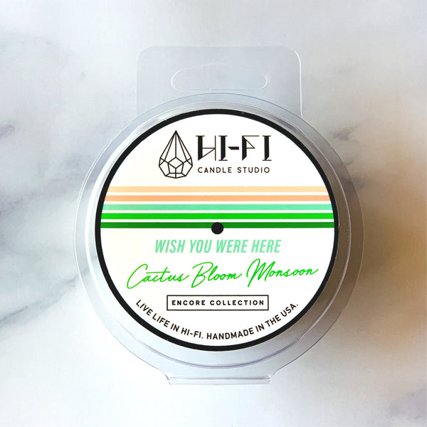 Wish You Were Here ± Cactus Bloom Monsoon Wax Melt