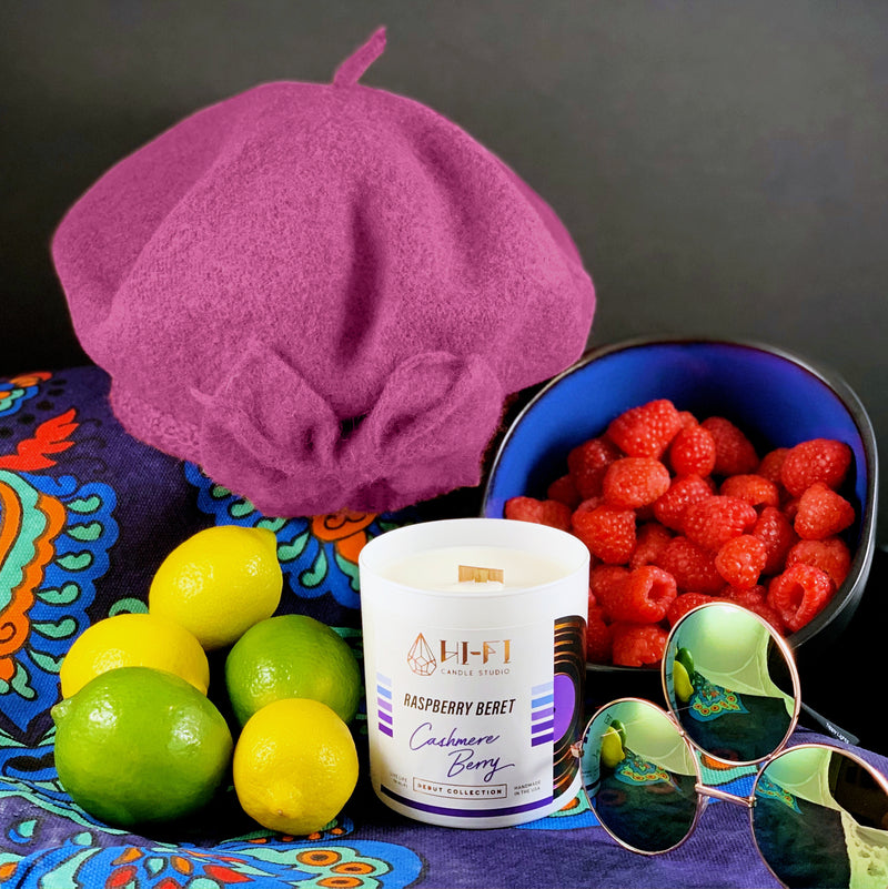 Raspberry Beret ± Cashmere Berry