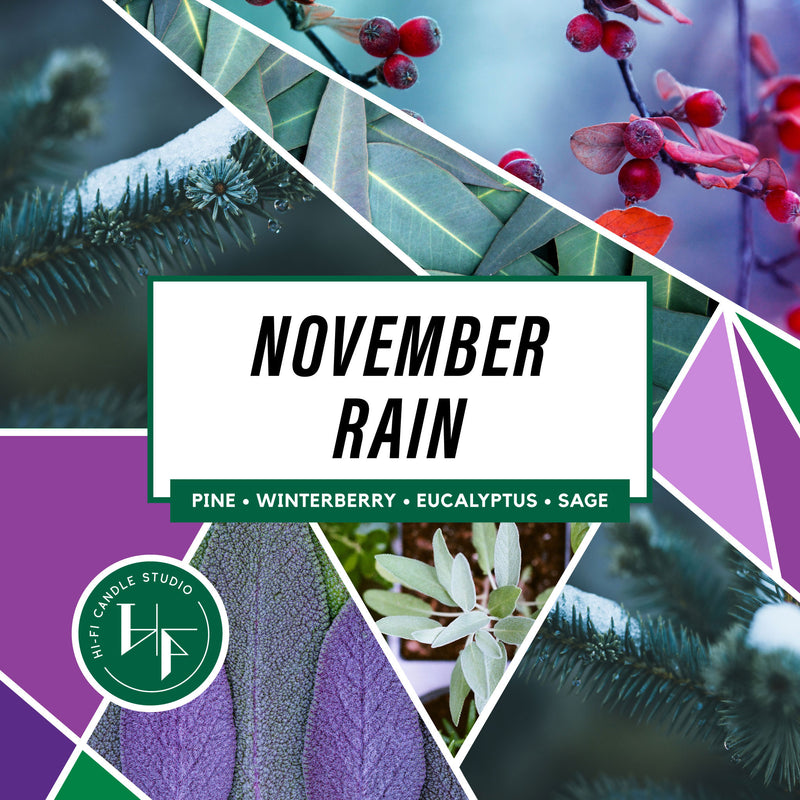 November Rain ± Evergreens & Eucalyptus