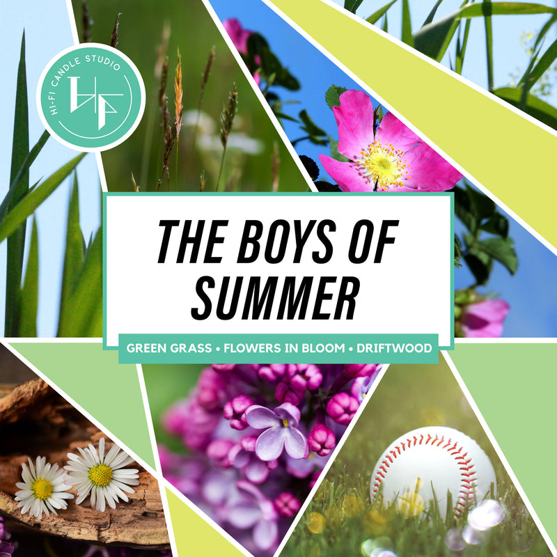 The Boys Of Summer ± Wildflowers & Driftwood-Hi-Fi Candle Studio