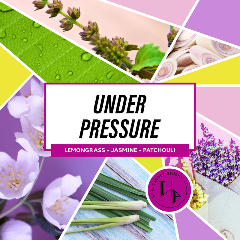 Under Pressure ± Lemongrass & Sugarcane-Hi-Fi Candle Studio
