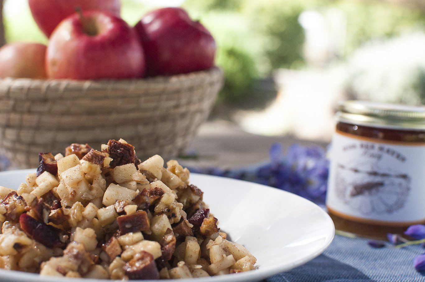 A farm to table Charoset for your Passover seder plate