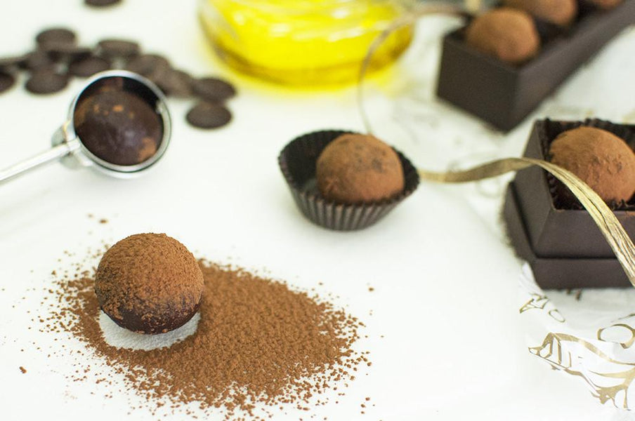 Dark Chocolate Olive Oil Truffles: A Chocolate Lover's Delight