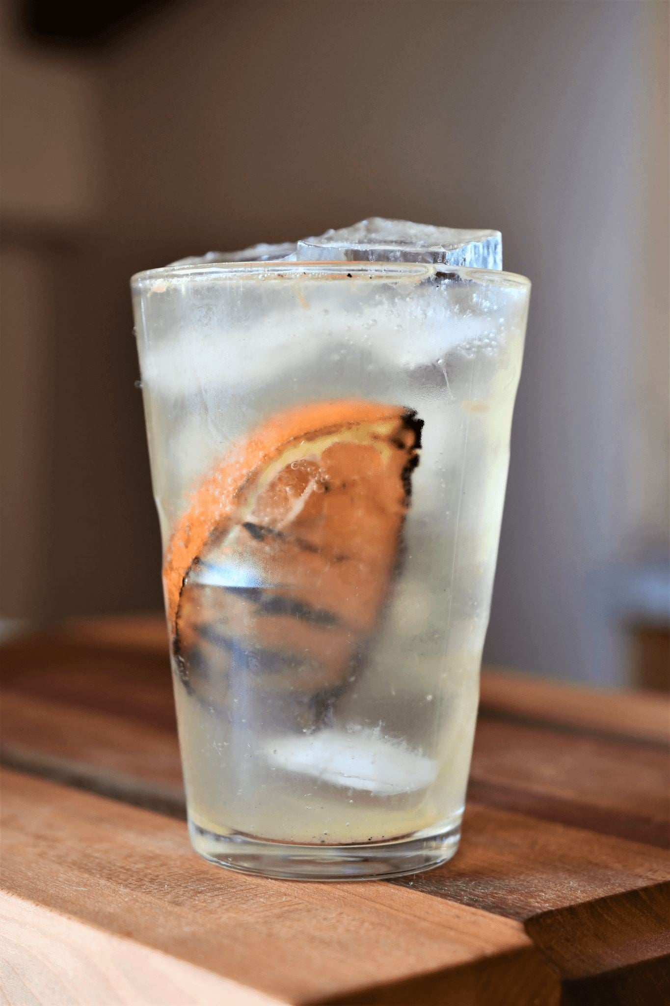 Grilled Cara Cara Vodka Tonic