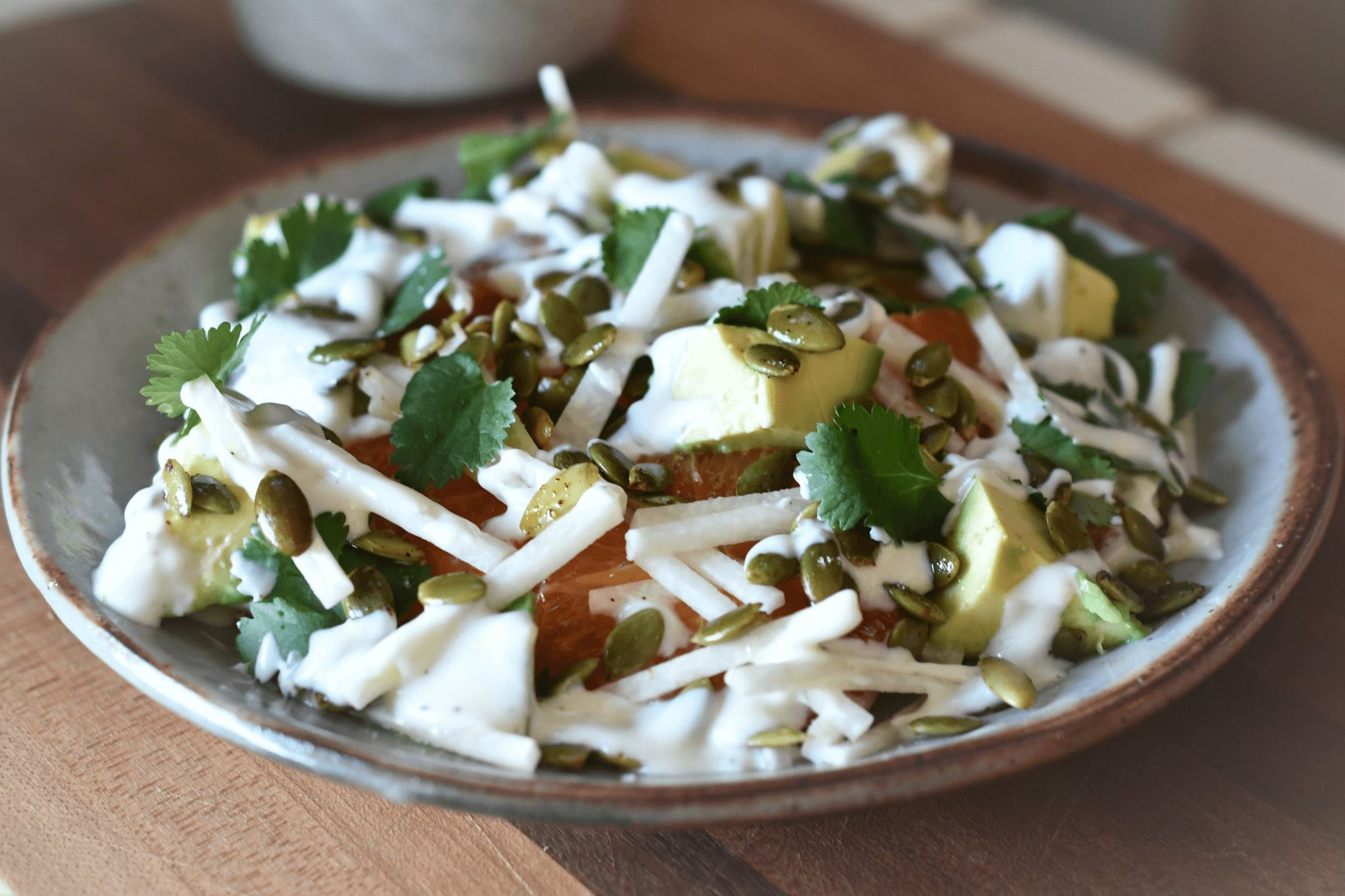 Jicama, Avocado and Citrus Salad