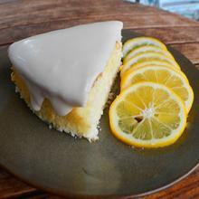 Popular Meyer Lemon Cake Makes the News!