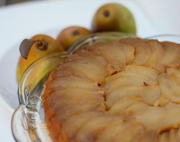 Chef Becky's Pear Upside Down Cake