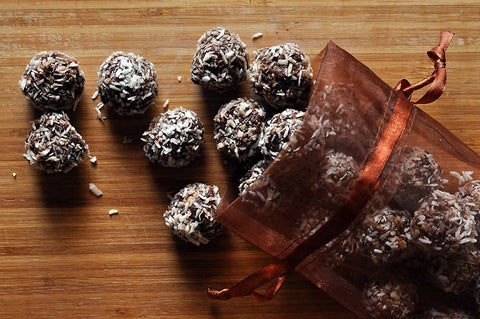 Delicious Dried Fruit Truffles