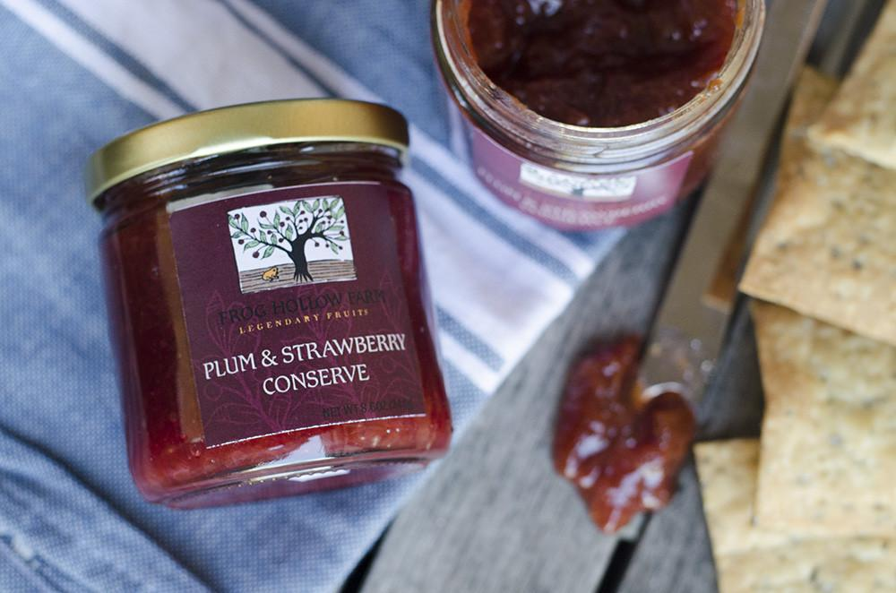 Plum Strawberry Conserve | Organic