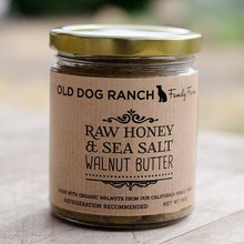 Raw Honey And Sea Salt Walnut Butter | Old Dog Ranch