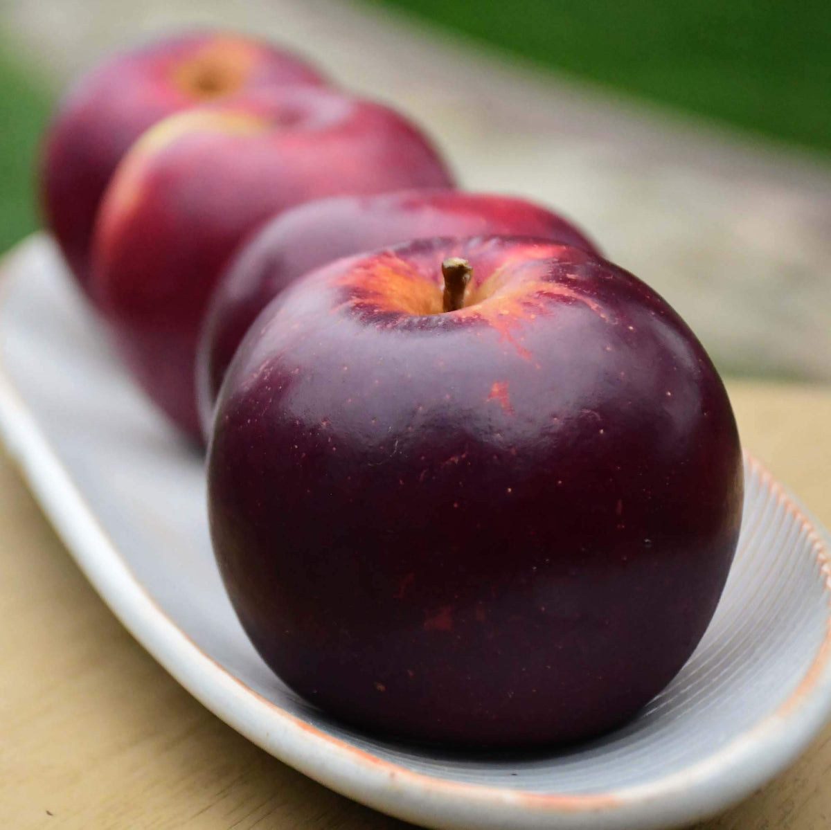 Organic Arkansas Black Apples