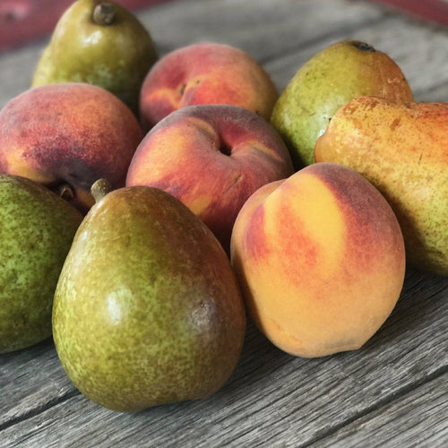 Organic Peaches & Pears Box | Fruit Delivery