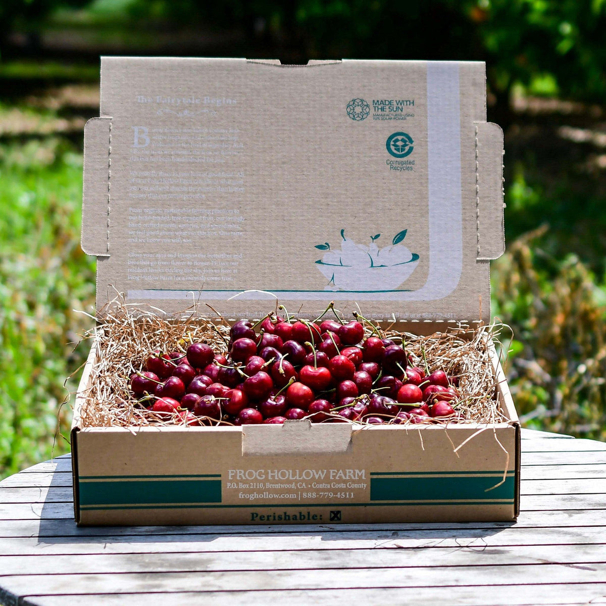 CCOF Certified Transitional Brooks Cherries