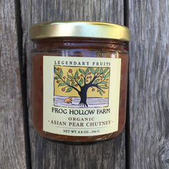 Asian Pear Chutney | Organic