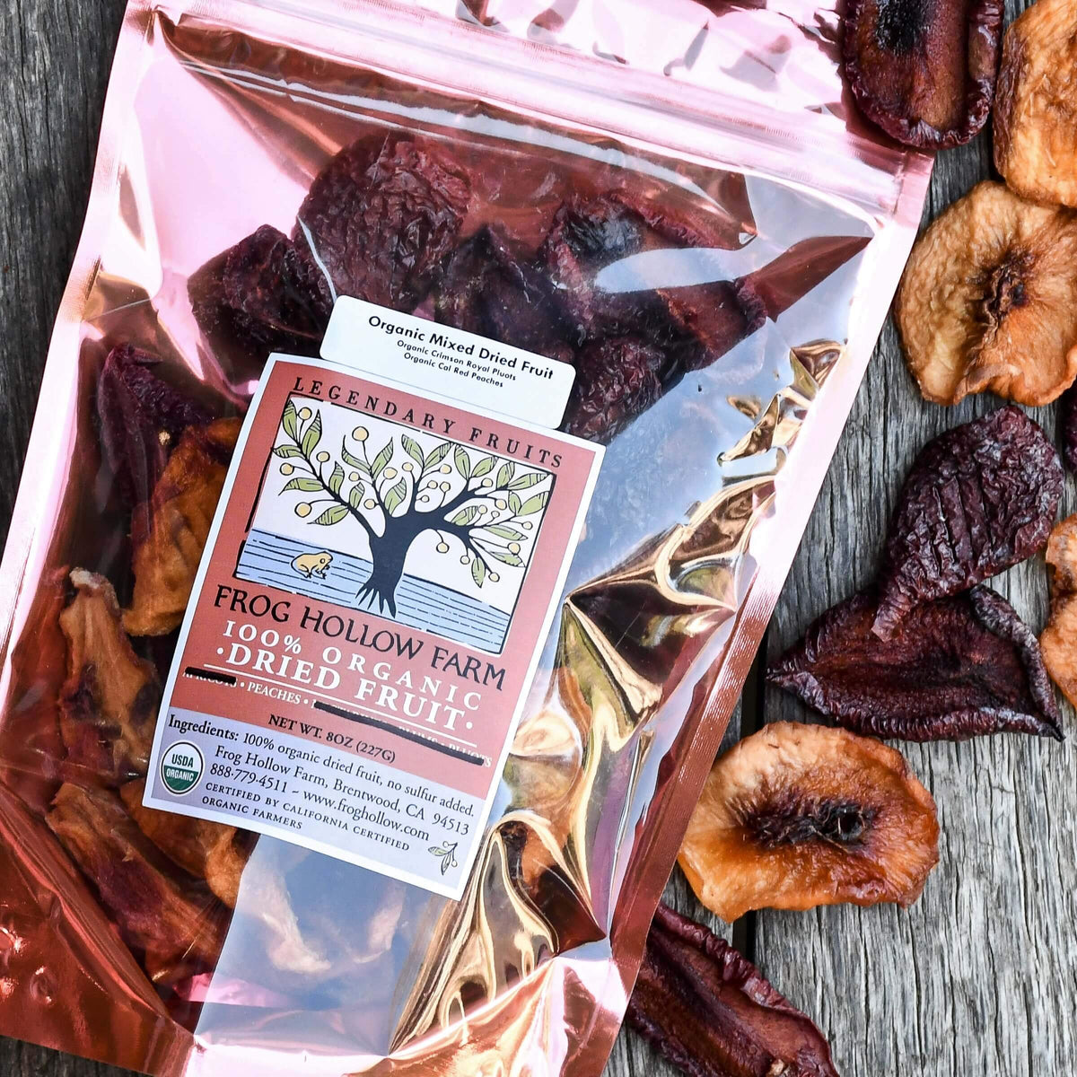 Organic Sun-Dried Mixed Fruit