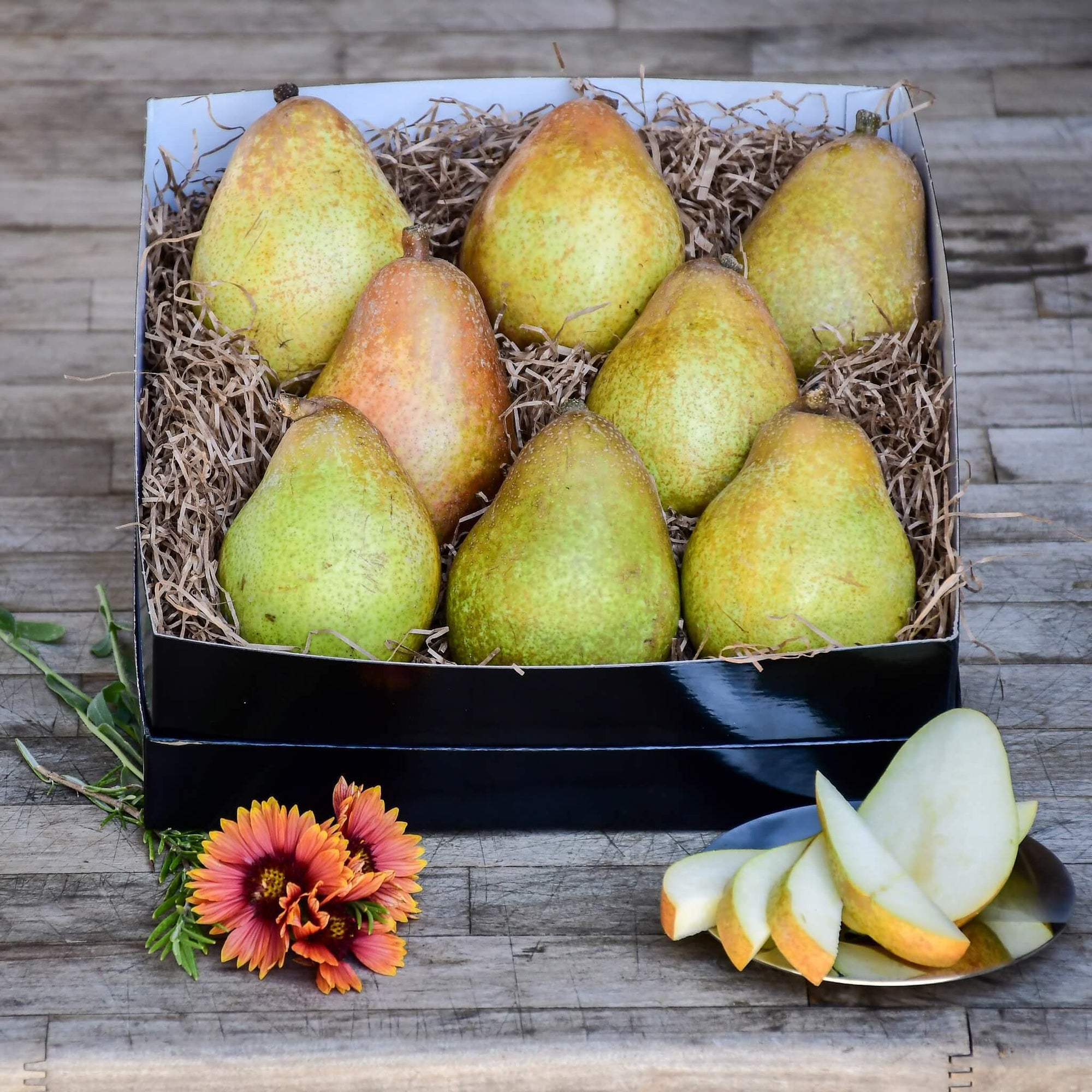 Organic Warren Pear Birthday Gift Box