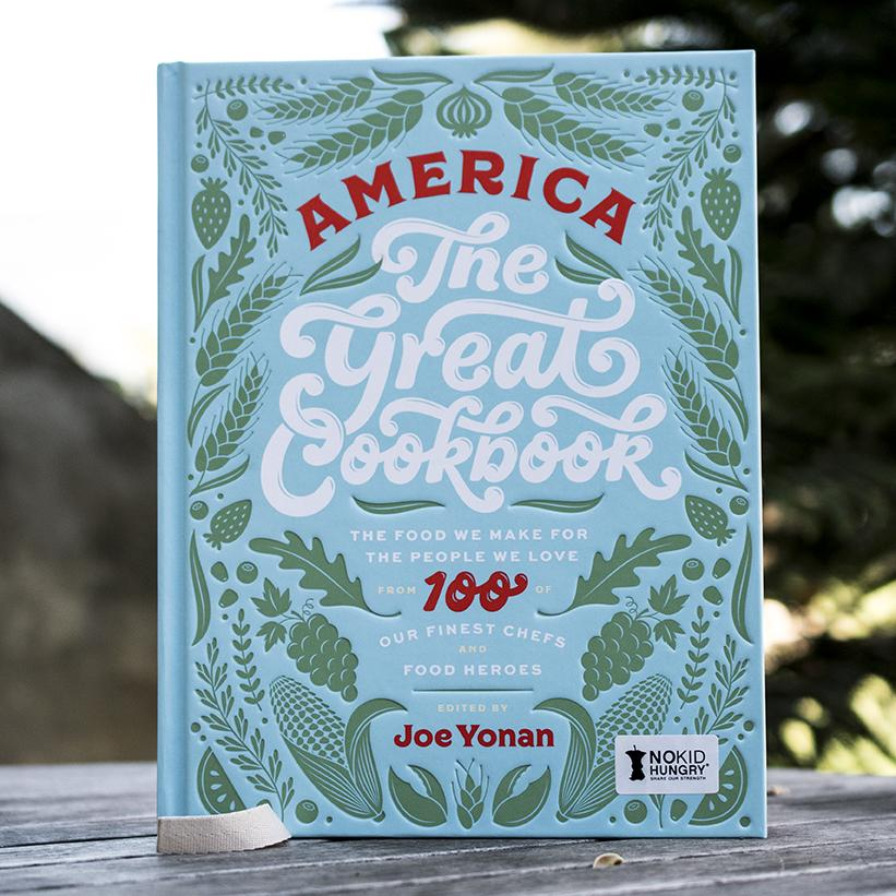 America The Great Cookbook - Hardcover [Ships Free]