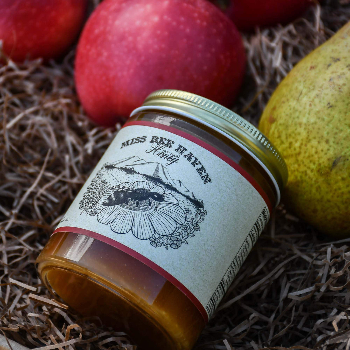 Warren Pears, Apples & Honey Box