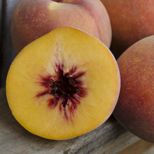 Load image into Gallery viewer, Organic Autumn Flame Peaches | Organic Peaches
