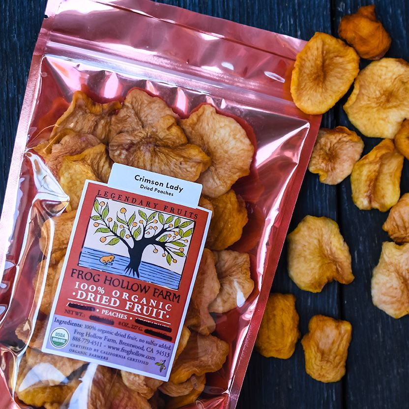 Organic Sun-Dried Peaches | Sulfur-Free