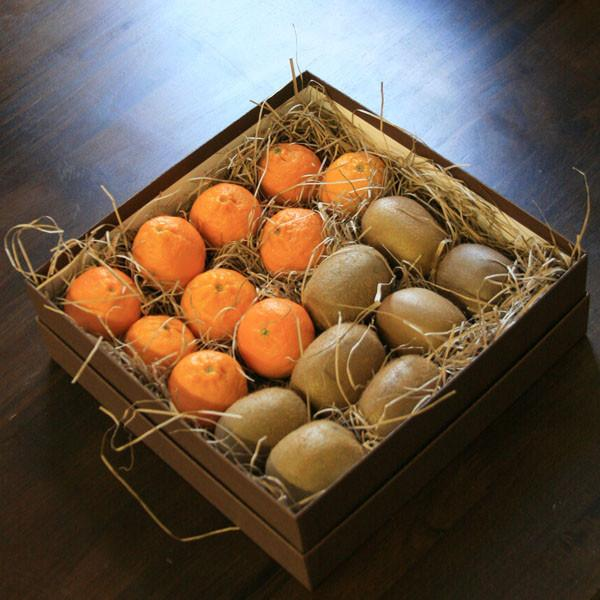 Mandarin & Kiwi Gift Box | Fruit Boxes